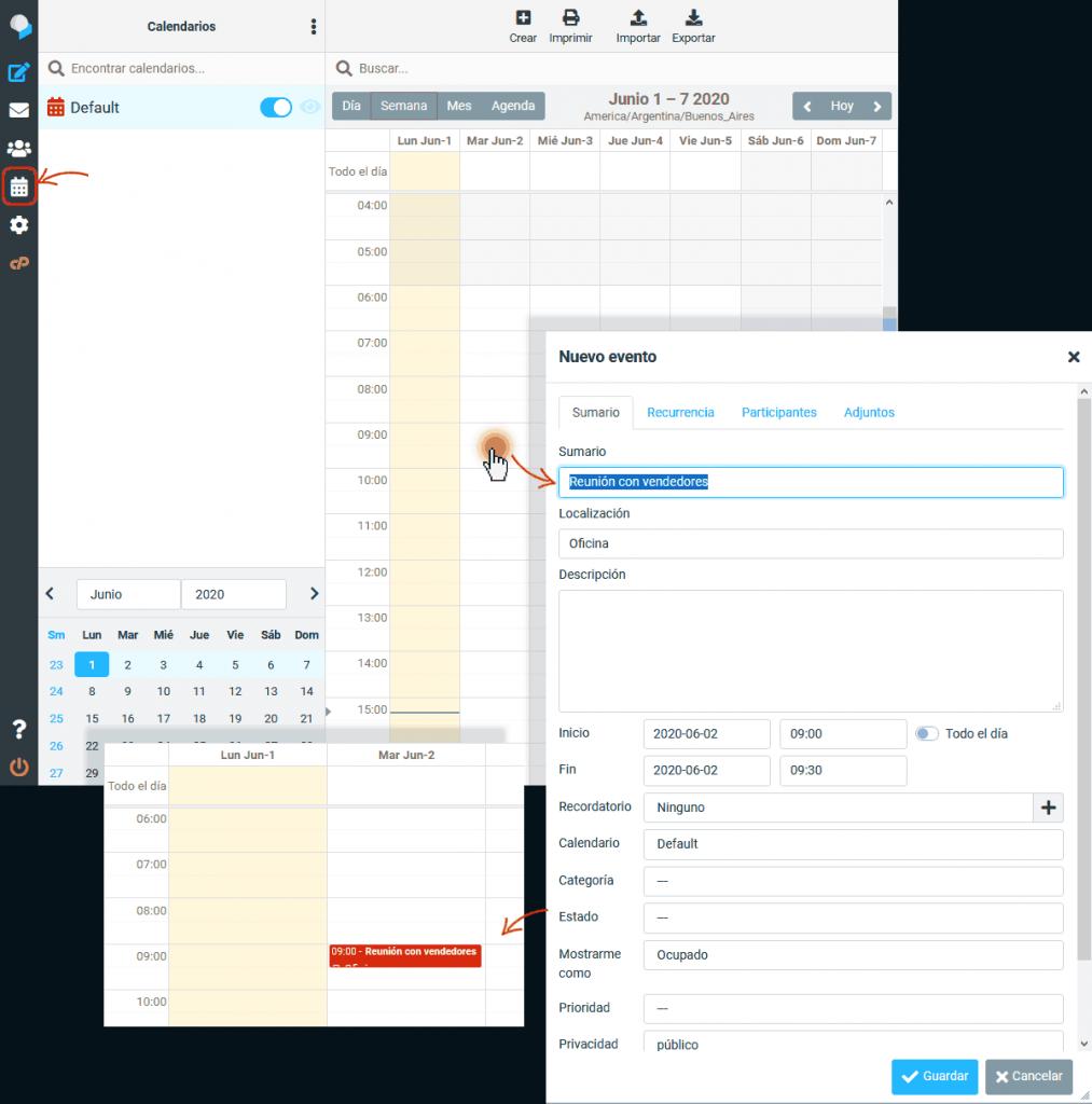 Interfaz de webmail renovada 4