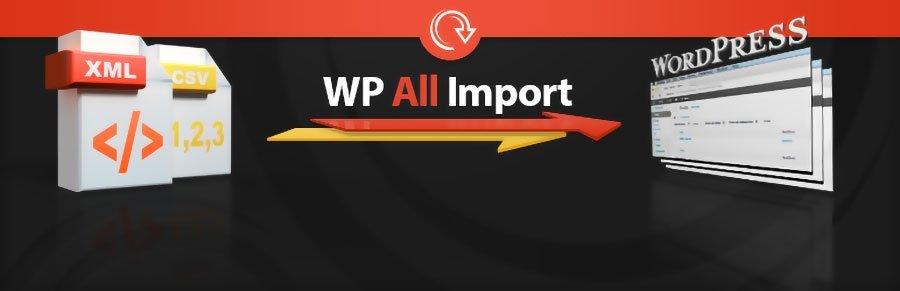 WP All Import Pro 1
